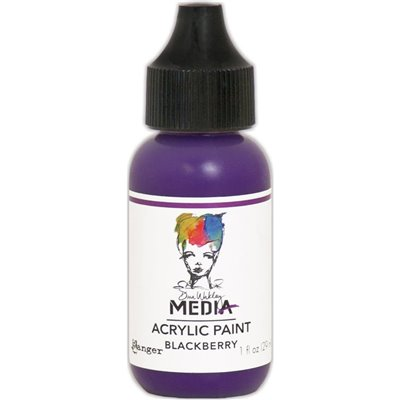 Dina Wakley Media Acrylic Paint - blackberry