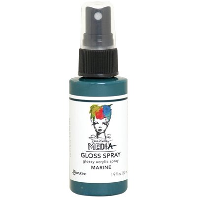 Dina Wakley Media Gloss Spray - Marine