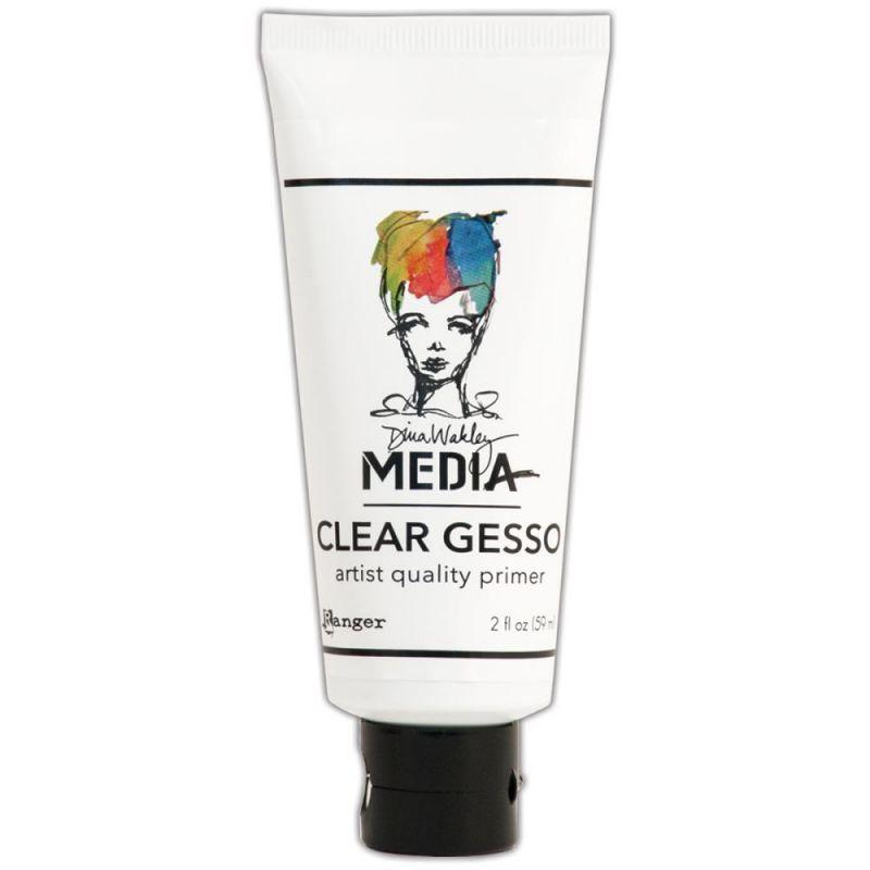 Dina Wakley Media Gesso - white