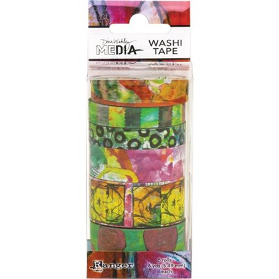 Dina Wakley Media Washi Tape des.4