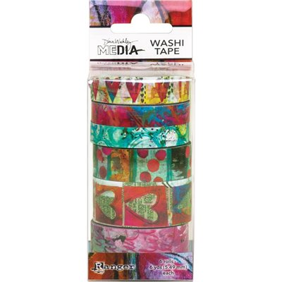Dina Wakley Media Washi Tape des.3