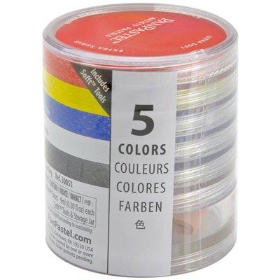 PanPastel Ultra Soft Artist Pastel Set 9ml 5/Pkg - Painting