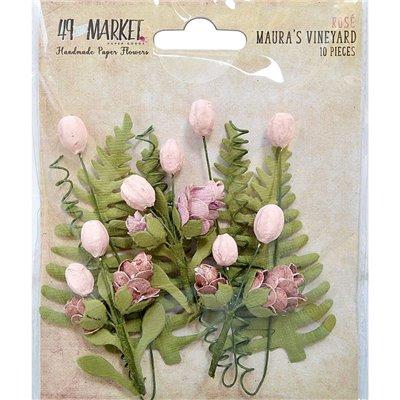 Papírvirág készlet - Maura's Vineyard - Rose