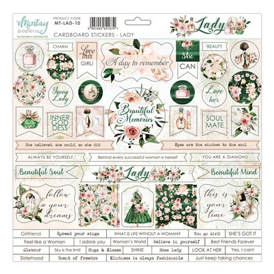 Lady karton matrica 12x12