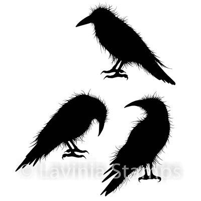 Crow Set polimer bélyegző