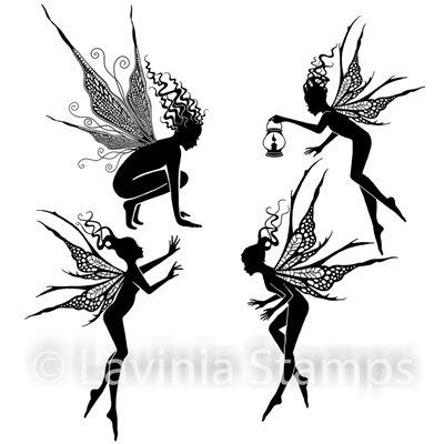 Fairy Foragers polimer bélyegző