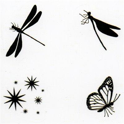 Fairy Bugs polimer bélyegző