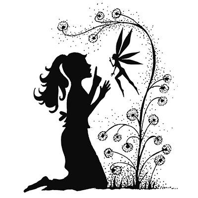 Fairy Wish polimer bélyegző
