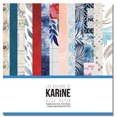 """Blue Batik 12"""" kollekció"""