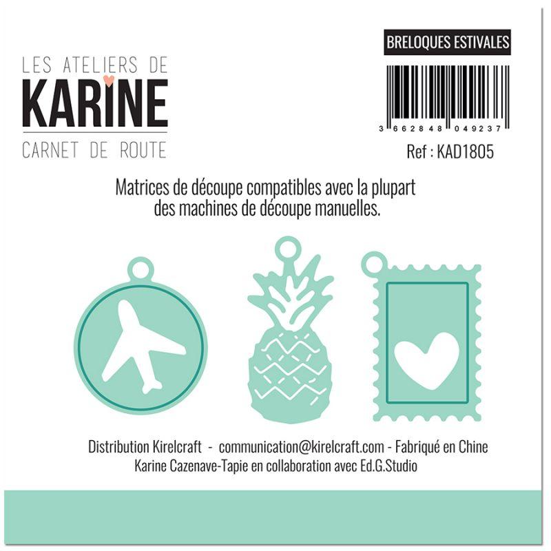 Carnet de Route Breloques estivales vágókés