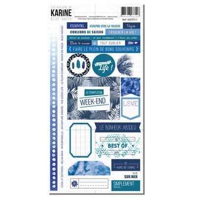 Blue Batik matricaív