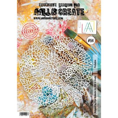 AALL and Create stencil no.084