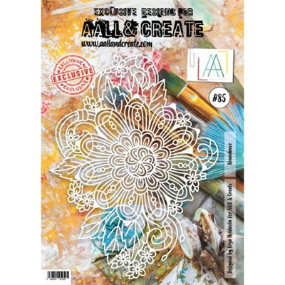 AALL and Create stencil no.085