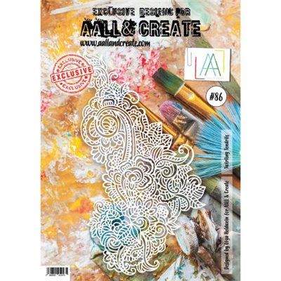 AALL and Create stencil no.086