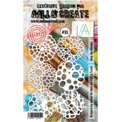 AALL and Create stencil no.088