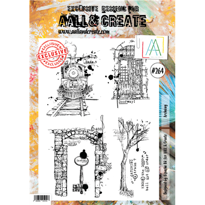 AALL and Create A4-es bélyegző no.264
