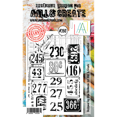 AALL and Create A6-os bélyegző no.280