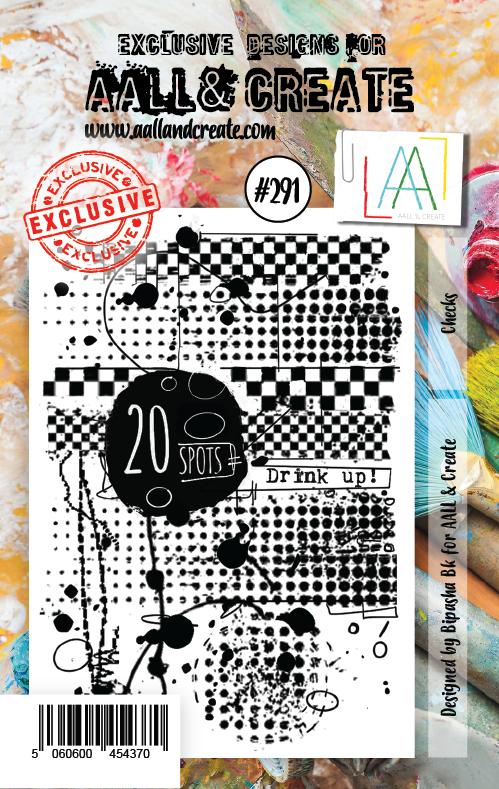 AALL and Create A7-es bélyegző no.291