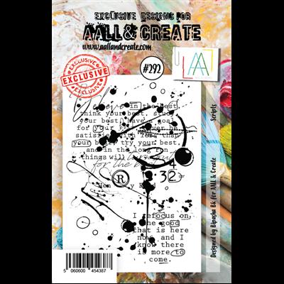 AALL and Create A7-es bélyegző no.292