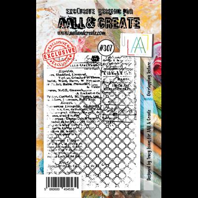 AALL and Create A7-es bélyegző no.307
