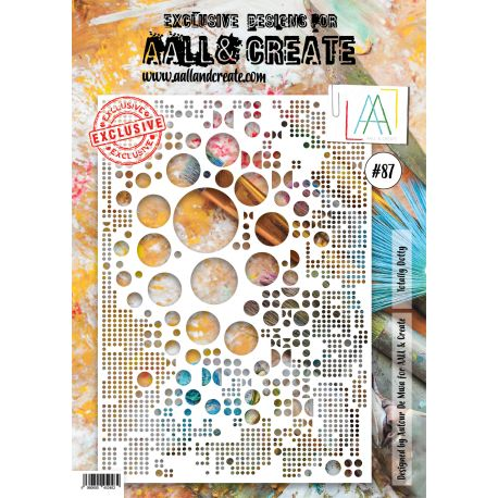 AALL and Create A4 stencil no.87