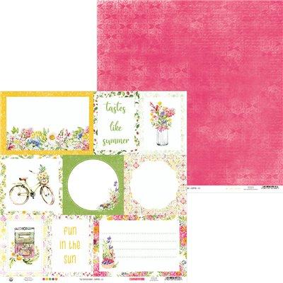 """The Four Seasons - Summer kivágóív kártyák 12x12"""""""