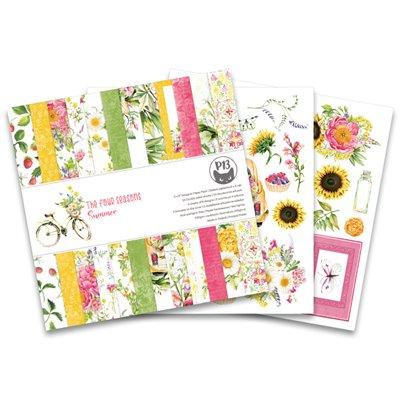 """The Four Seasons - Summer 6""""-es kollekció (24 db 2 oldalas papír + 2 db kivágóív)"""