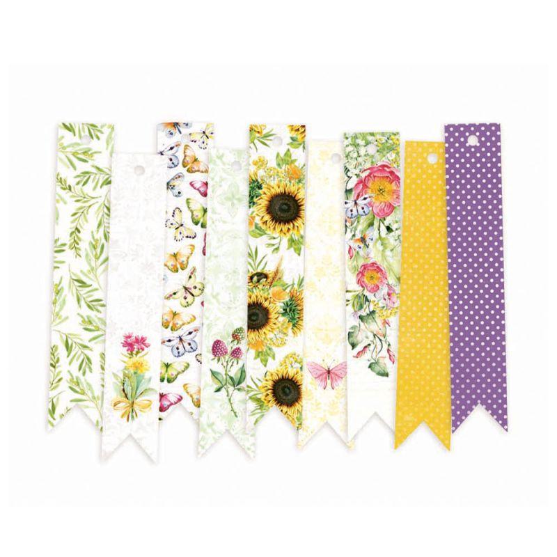 The Four Seasons - Summer - dekorációs címkék 03 - 9 db