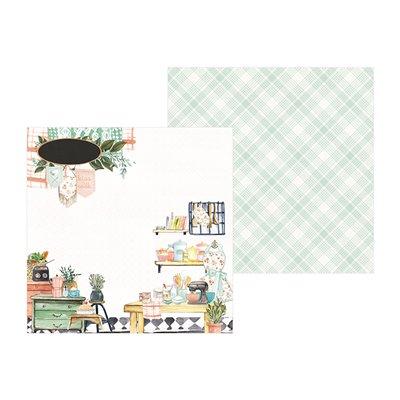 """Around the Table 6""""-es kollekció (24 db 2 oldalas papír + 2 db kivágóív)"""