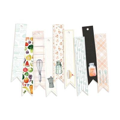Around the Table - dekorációs címkék 03 - 9 db