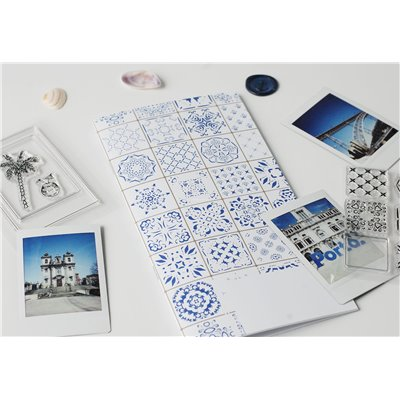 Journey Notebook des.3 - Azulejos