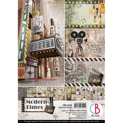 Modern Times Creative Pad A4