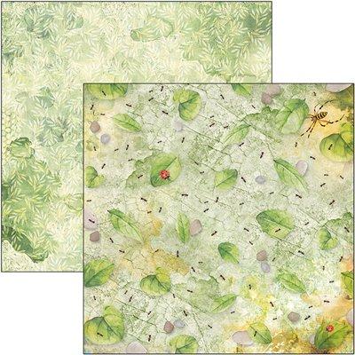 "Microcosmos Pattern Pad 12""x12"""
