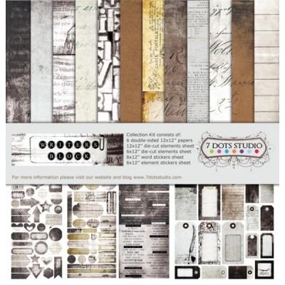 Writer's Block mini kollekció -  6 db 12x12-es papír