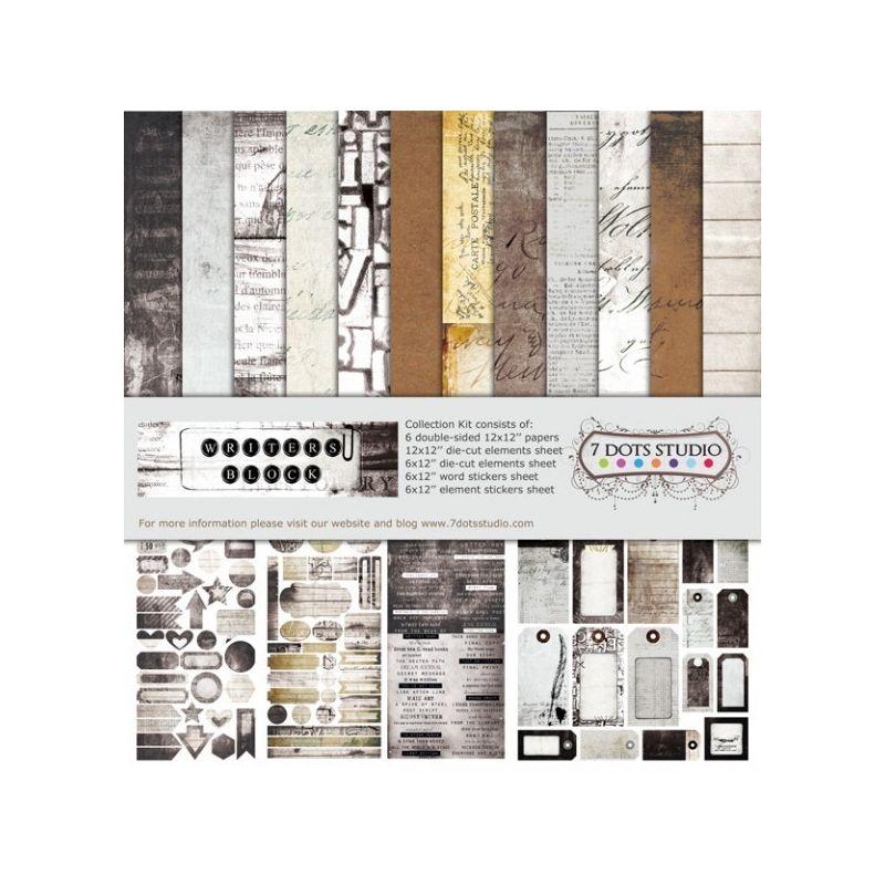 Writer's Block maxi kollekció - 12x12