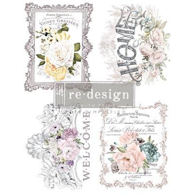 Re-Design with Prima Floral Home - transzferfólia