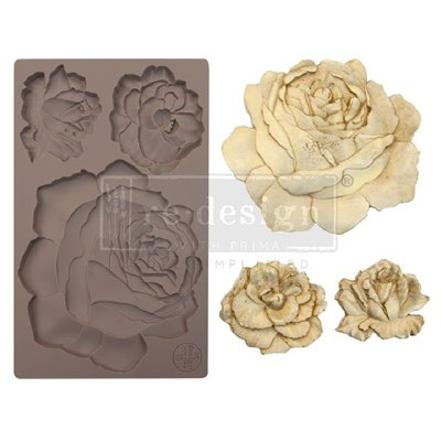 Prima Re-Design Szilikon öntőforma - Mould - Etruscan Rose