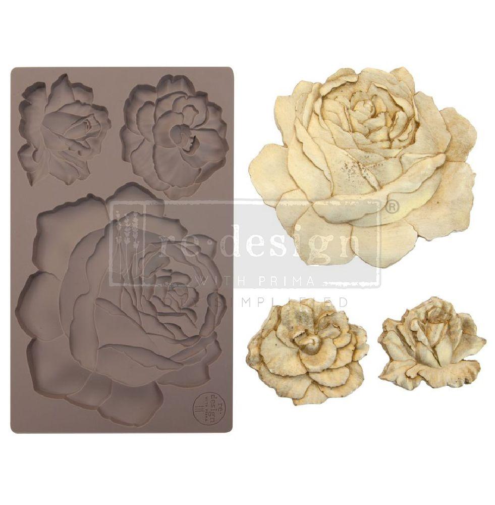 Prima Re-Design Szilikon öntőforma - Mould - Etruscan Rose