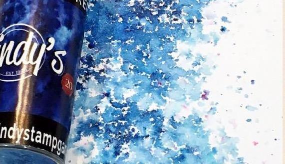 Lindy\'s Stamp Gang Bavarian Blue Magical Shaker