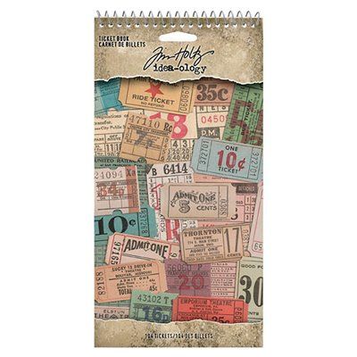 Tim Holtz Idea-ology - Ticket Book