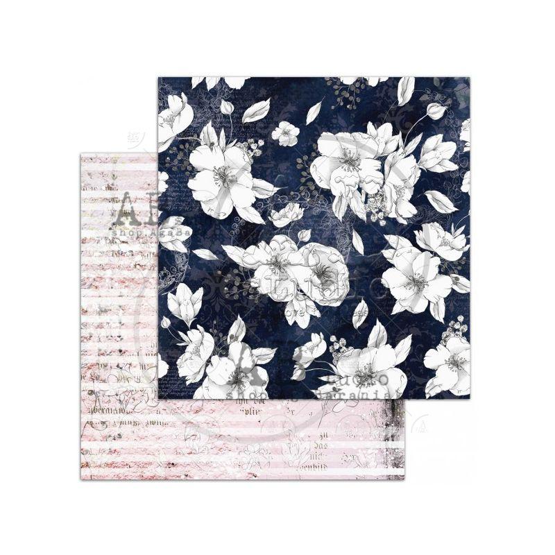 The Versailles Sheet 7 - Morning dew - 12x12-es scrapbook papír