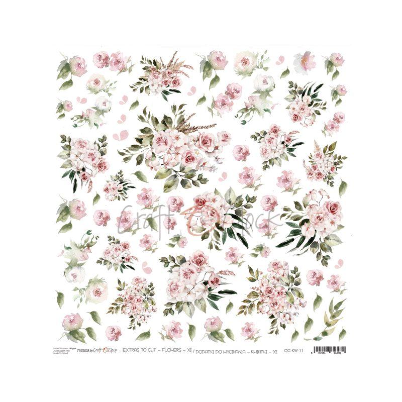 Flowers - XI kivágóív