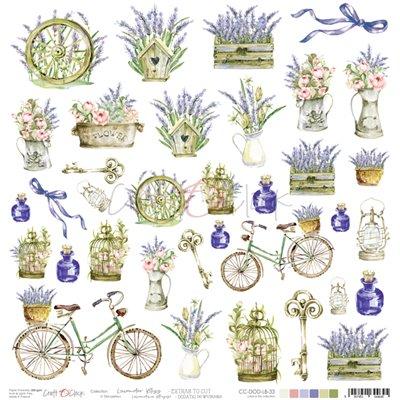 Lavender Bliss - kivágóív