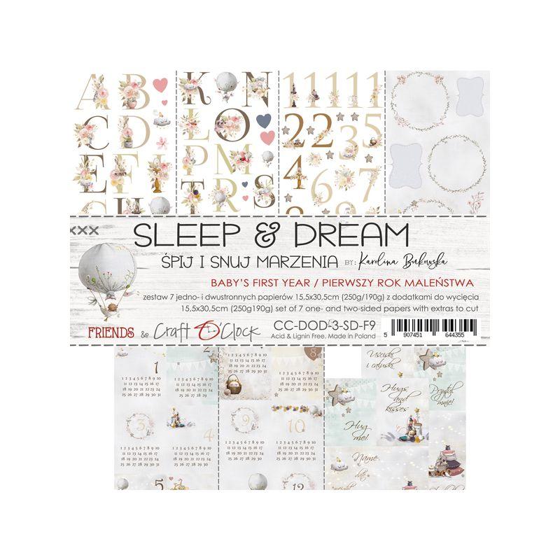 Sleep & Dream - kivágóív szett
