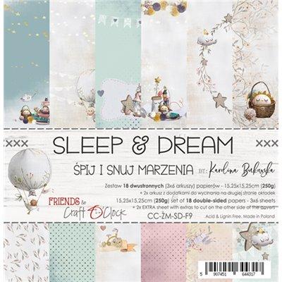 Sleep & Dream - papírkészlet 15,25x15,25cm