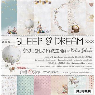 Sleep & Dream - papírkészlet 20,3x20,3cm