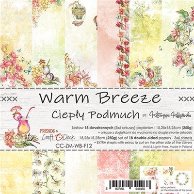 Warm Breeze - papírkészlet 15,25x15,25cm