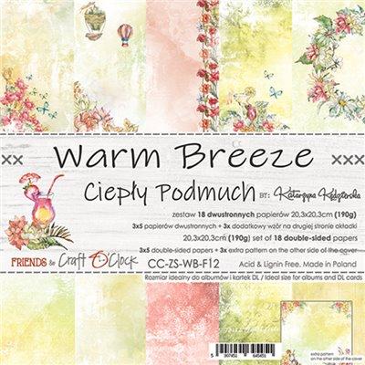 Warm Breeze - papírkészlet 20,3x20,3cm