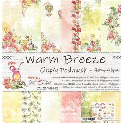 Warm Breeze - papírkészlet 30,5x30,5cm