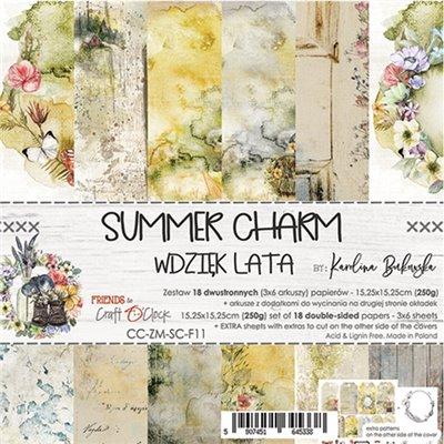 Summer Charm - papírkészlet 15,25x15,25cm